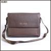 Classical design genuine leather briefcase for pure leather men messenger bag