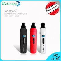 Best selling 2200mAh battery ceamic chamber dry herb vip electronic cigarette