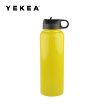 1100ML Hydro Flask Vacuum Insulated Stainless Steel Wide Mouth Water Bottle,BPA Free With Multiple lid