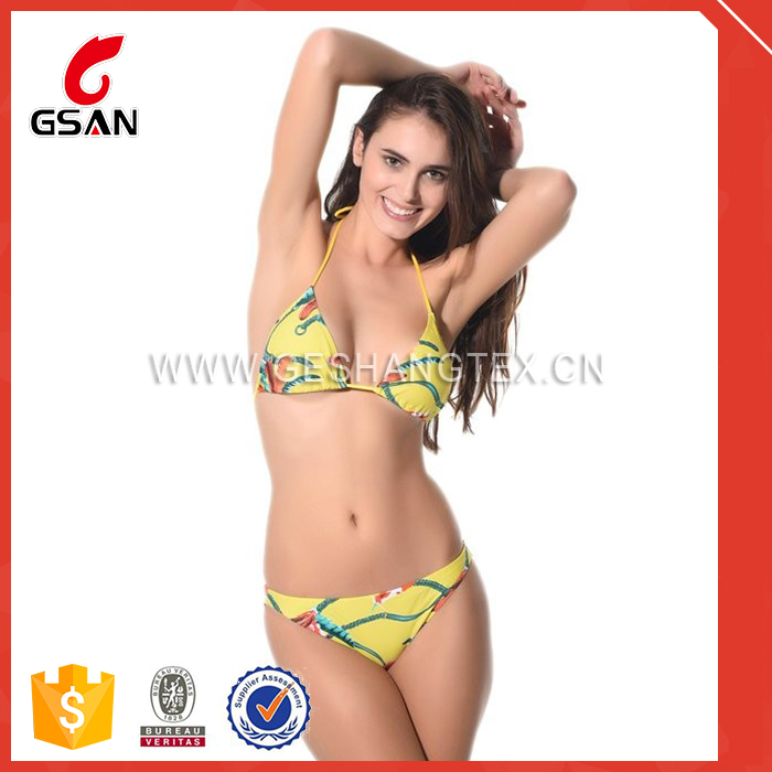 for sale pretty cotton polyester girls sexy christmas bikini