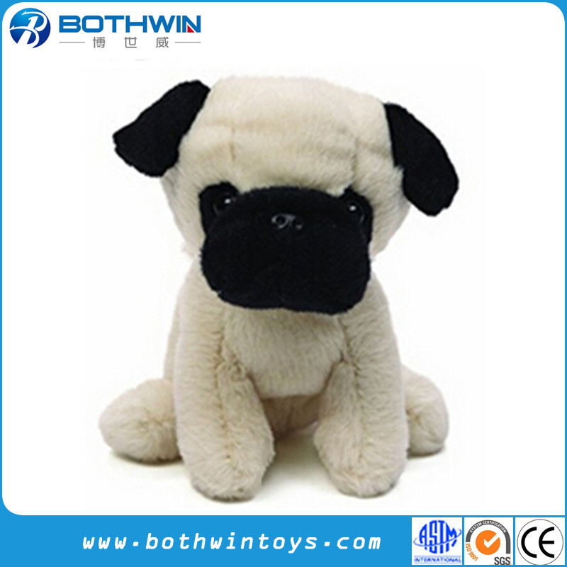 Adorable Pug Dog Stuffed Animal