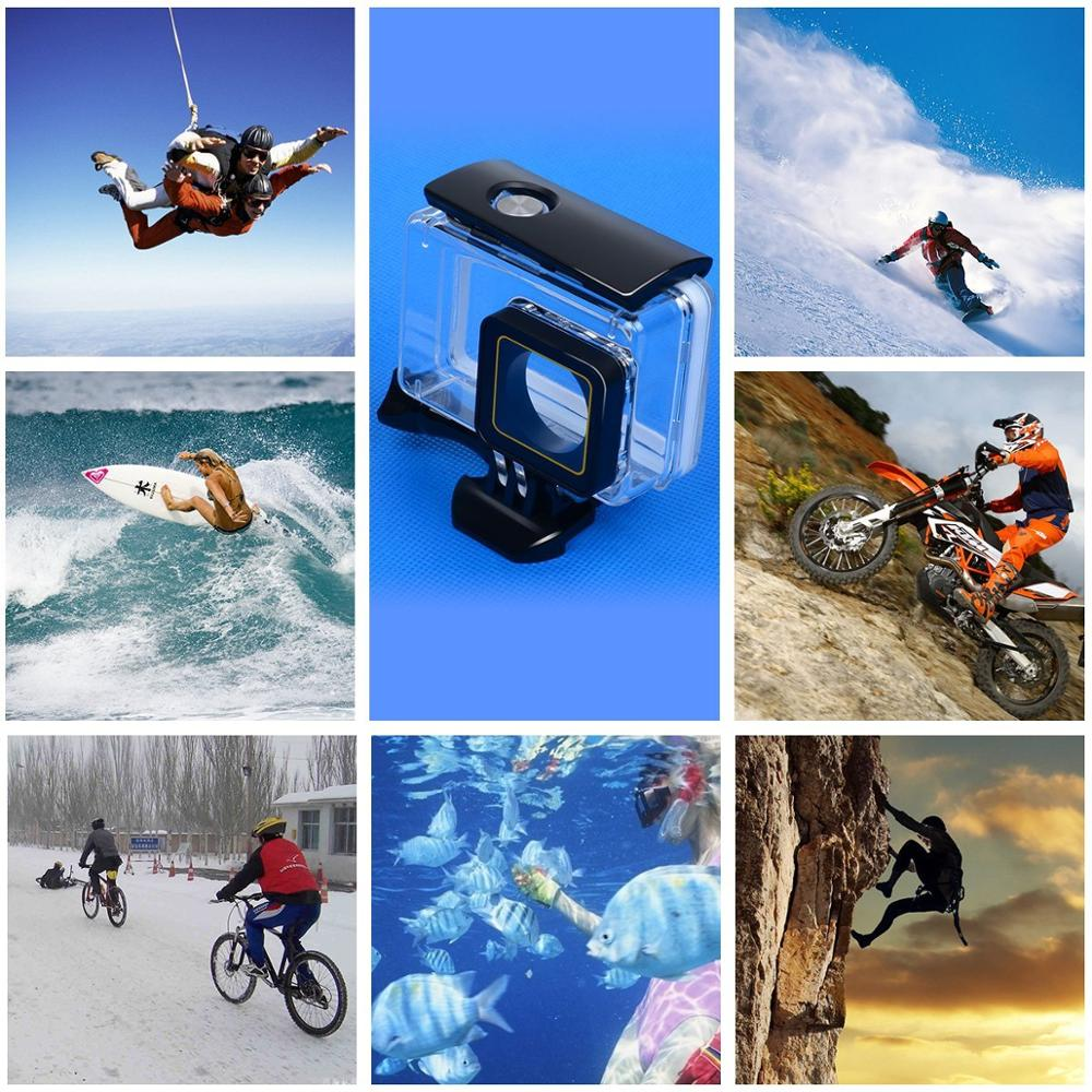Digital camera Ultra HD 4K WIFI Sport Yi Action Camera 30m waterproof Touch Screen