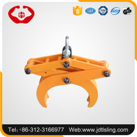 Lifting and transfering round granite scissor lifting clamp
