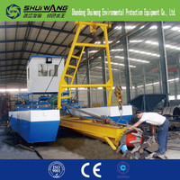 Self propelled barge cutter suction dredger for sale