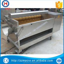 carrot cleaning machine/fruit cleaning and peeling machine