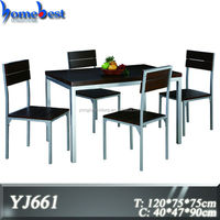 Home furniture dining table and chair sets for dining room