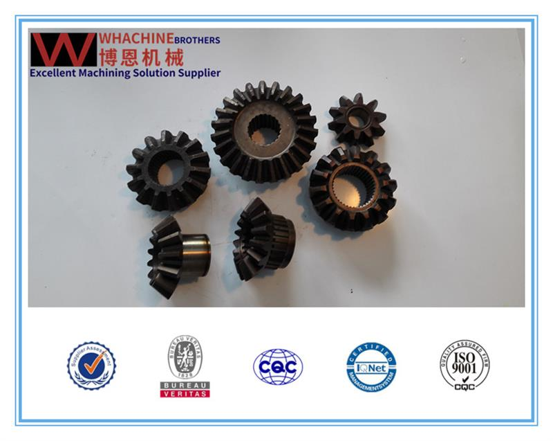 Customized different types spiral bevel gear for rolling mill Used For Agriculture Machinery