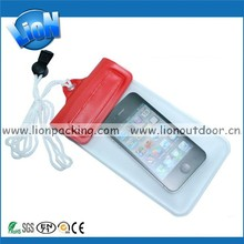 Long Neck Strap PVC Cell Phone Waterproof Pouch Case