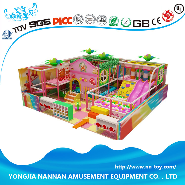 Commercial kids indoor playground facility