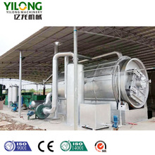 scrap used tyre to fuel oil pyrolysis plant with for sale