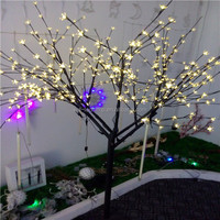 Artificial cherry blossom tree outdoor lighted trees for wedding decorative