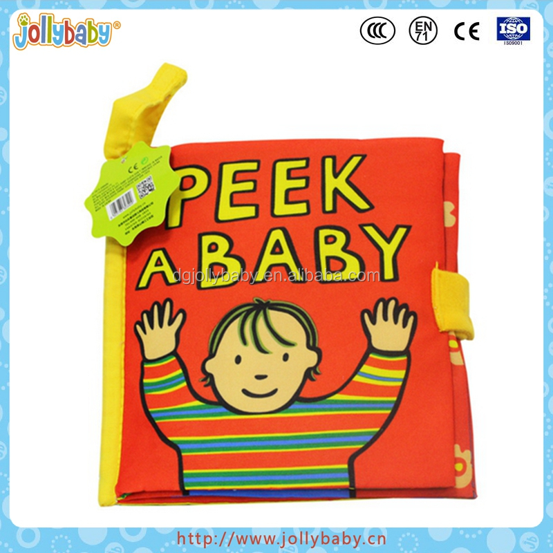 Jollybaby OBM Fashion Children Educational Soft Toy Baby Cloth Book
