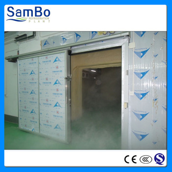 CE quality customized flower food storage cold room for sale