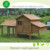 DXH014 large size easy clean hens coop