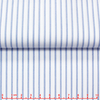 leftover stock stripe CVC Fabric for shirts
