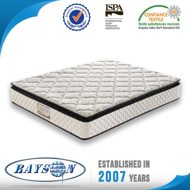 Direct Price Custom Size Memory Foam Pocket Coil Spring Mattress