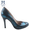 2015 snake patten leather high quality women shoes, women shoes high heels italy