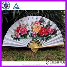 handicraft bamboo paper handmade painting large size hand fan