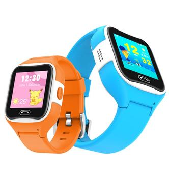 SMA- M2 IP68 Waterproof Voice Chat SOS GPS Kids Smart Watch