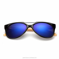 New Style Fashion Wood Sunglasses UV400 Protected with Custom Logo