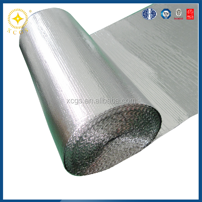 metal roofing reflective fireproof thermal foil insulation