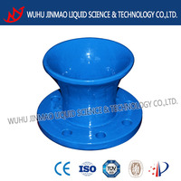 Flanged bell mouth DN80 pipe fittingpipe fitting