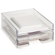 Acrylic Stationary Holder For Office Supplies