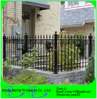 used wrought forged iron portable garden fence design