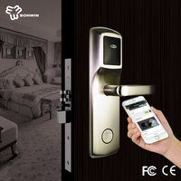 Swipe card type Intelligent electronic door lock with CE ISO certification