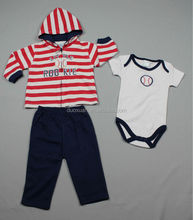 100%cotton baby 3pcs /baby pants/baby creeper/
