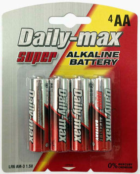 Super AA Alkaline Battery