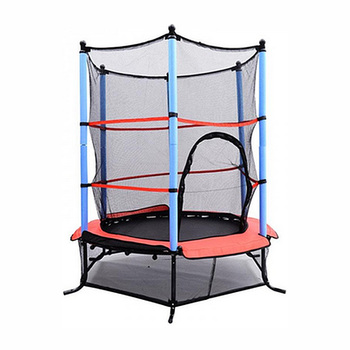 "55"" Spring Kids Trampolines Enclosure Set"