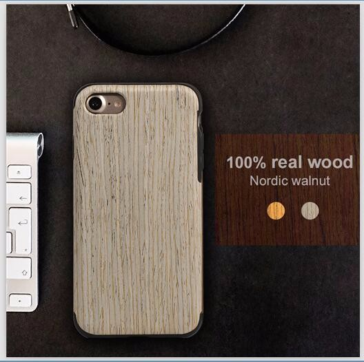 New Arrival Mobile Phone Wood Case For iPhone 7&7 plus Wooden Case