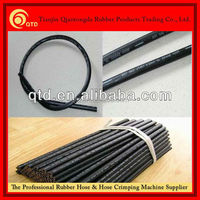 China professional manufacturer! high pressure rubber stainless steel hydraulic hose hot sales!
