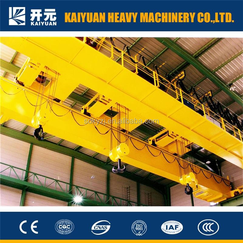 Kaiyuan Co. Ltd. offers hook type bridge 250 t double girder crane for Europe and South Africa