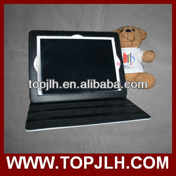 new product made in china Leather and Hard Fabric Sublimation Cover Case For Ipad2