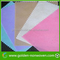 100% polypropylene plain needle punched nonwoven fabric for sofa upholstery /sofa cover manufacturer