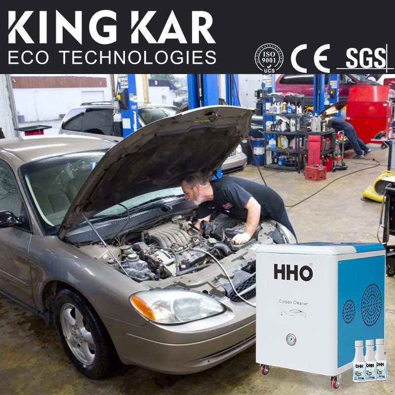 lower emission vehicle hydrogen cleaning motor