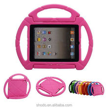portable kids eva soft stering wheel tablet case for ipad mini for game play