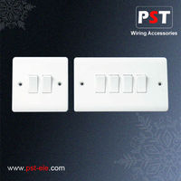 10amp 2 Gang and 4 Gang 2 Way Wall Switch