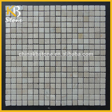mixed color natural stone tiles outside wall tiles design