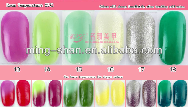 no044 sloomey bluesky shellac 48 que cambia de color camaleón gel uv ...