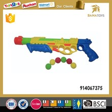 Plastic foam soft sponge ball gun for kids