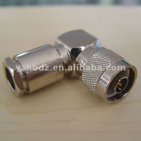 N type Male Right Angle connector for LMR400 cable