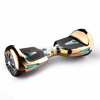 2016 Tomoloo Factory price 8 inches two wheels smart self balancing scooters drifting with bluetooth good quality for adults