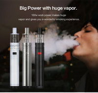 Vaporizer e cigarette kit kamry x6 plus 2000mah suport the lowest 0.1 ohm atomizer