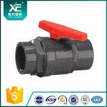 Two Pieces Pipe Ball Valve Plastic Handle from China Manufacturer