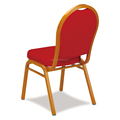 Wholesale hotel furniture banquet hall chair aluminum frame banquet chair for sale