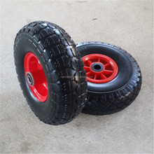 10inch 410/350-4 pu foam wheel