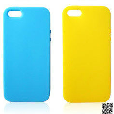 new silicone blank custom phone case for iphone5